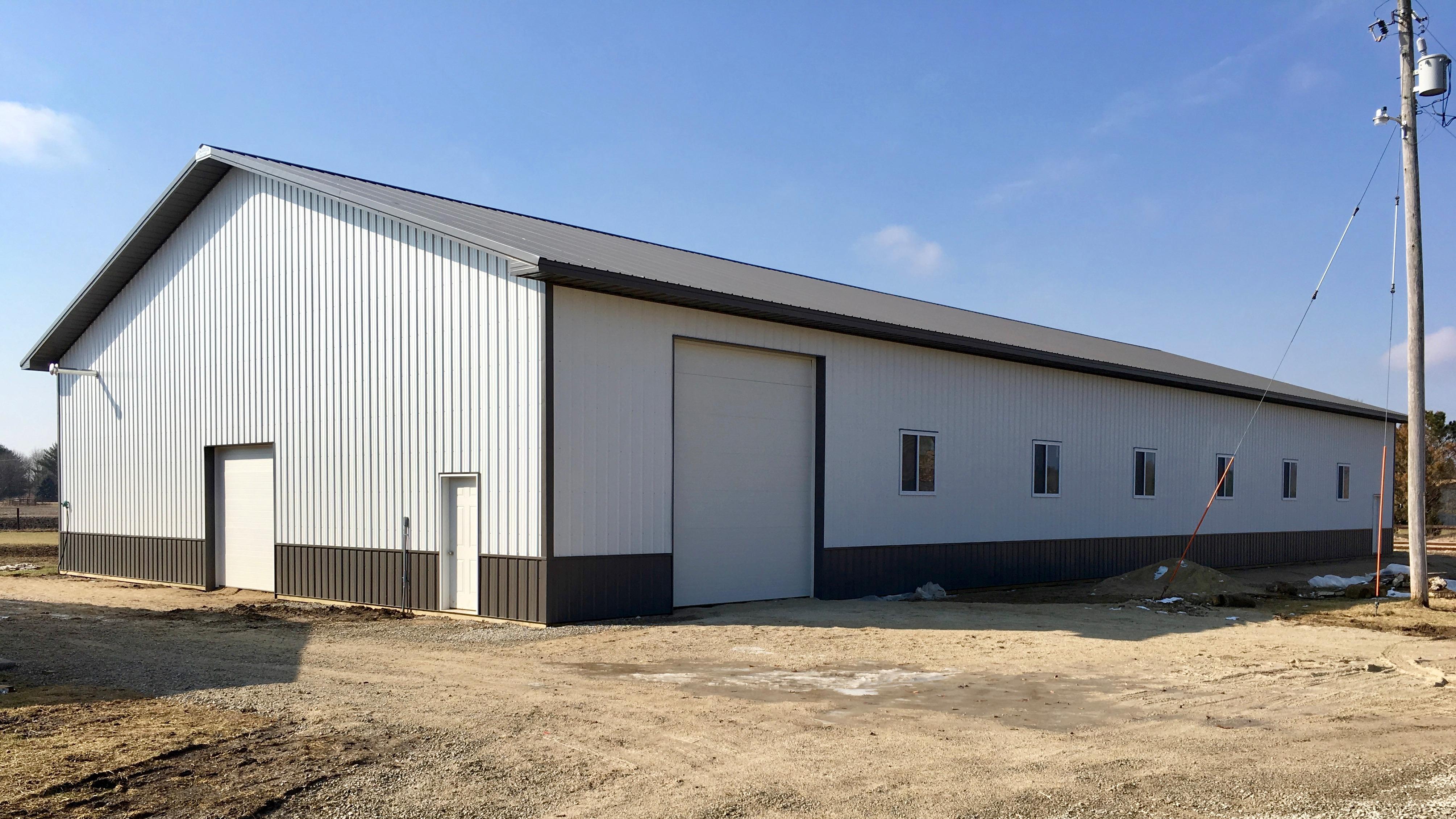 Pole Barn Builders Lancaster Ohio 24x32 Pole Garage
